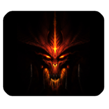 Hot Diablo 42 Mouse Pad for Gaming with Rubber Backed - $7.69