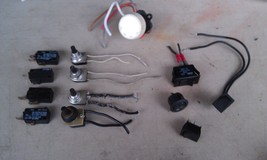 9 U47 Assorted Electrical Switches, A Dozen Pieces, Good Condition - $12.00