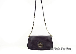 Tory Burch Britten Clutch Navy Blue $350 New - $270.89