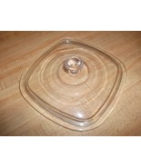Pyrex Glass Corning Ware P 7 C 1 qt  Replacement Lid For P7C Small Knob 7 1/4 EX - $16.82