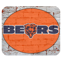 Hot Chicago Bears 1 Mouse Pad for Gaming with Rubber Backed - $7.69
