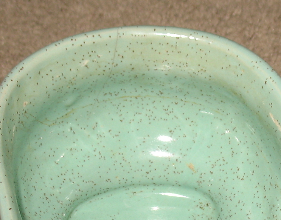 Vintage Aqua Green Planter - McCoy??