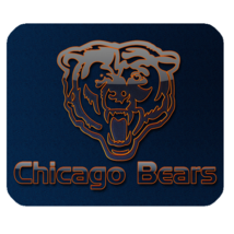 Hot Chicago Bears 8 Mouse Pad for Gaming with Rubber Backed - $7.69