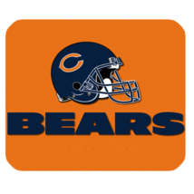 Hot Chicago Bears 12 Mouse Pad for Gaming with Rubber Backed - $7.69