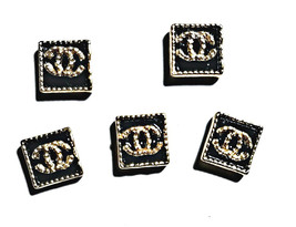5pc Nail Art Charms 3D Nail Rhinestones Decoration Jewelry DIY Bling C51 - $4.69