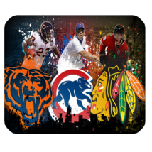 Hot Chicago Bears 20 Mouse Pad for Gaming with Rubber Backed - $7.69