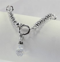Trendy Charm Bracelet w/ Removable Charm for Necklace - $20.97 CAD