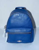 NWT COACH MINI CHARLIE BACKPACK IN PEBBLE LEATHER #F38263 - $159.99