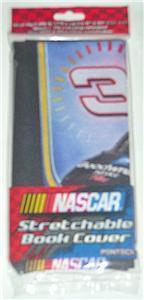 DALE EARNHARDT #3 NASCAR DRIVER STRETCHABLE BOOK COVER