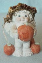 Dreamsicle Chubby Cherub with Pumpkins - $9.99