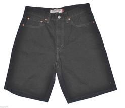 "Levi's 550 Relaxed Fit Black Denim Shorts 31"" Waist - $29.69"