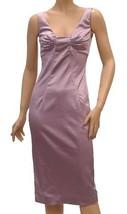 Dolce & Gabbana Women's Satin Sleeveless Lilac Dress - $199.99