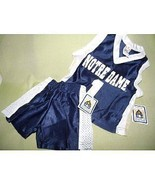 NCAA University of Notre Dame Basketball Jersey & Short Set 12mo FIGHTIN... - $14.84