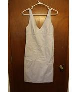 DKNY Blue Gray Checkered Dress size 6 - $15.99