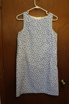 Victoria Holley Blue Floral Dress size 12 - $17.99
