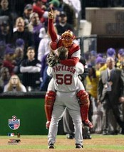 Celebration Varitek Papelbon Final Out 2007 Series Boston Red Sox 11X14 ... - $14.95