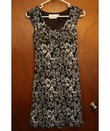 Marian & Maral Black Floral Dress size Medium - $15.99