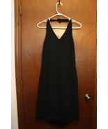 Worthington Black Halter Knee Length Dress - Size 12 - $10.99