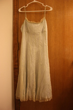 NWT Antonio Melani Green Dress with Sheer Overlay Size S (8) - $39.99