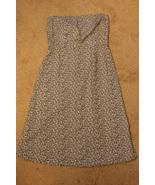 New York & Company Black & White Strapless Dress size 8 - $7.99