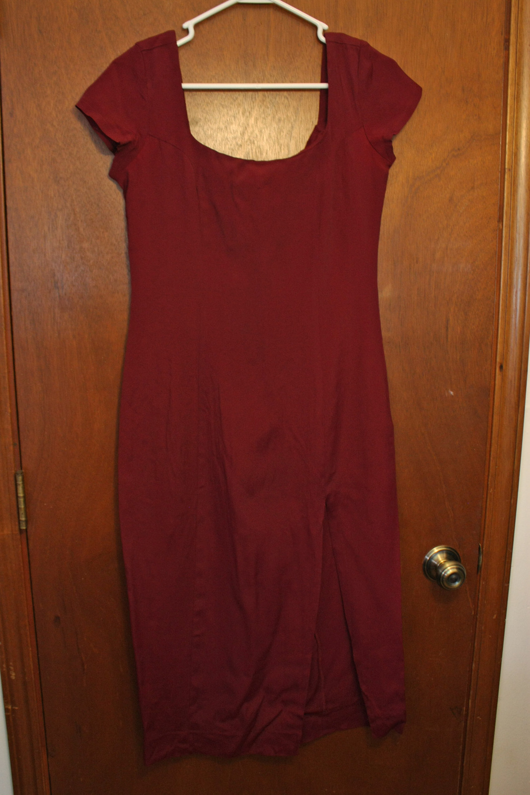 Primary image for French Connection Burgundy Red Dress - size 5/6