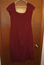 French Connection Burgundy Red Dress - size 5/6 - $13.99
