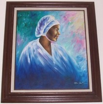 Don Connie West Black Memorabilia Afro American Art - $6,533.99