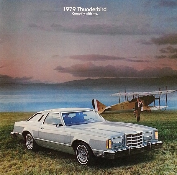 Primary image for 1979 Ford THUNDERBIRD sales brochure catalog US 79 Heritage Town Landau
