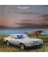 1979 Ford THUNDERBIRD sales brochure catalog US 79 Heritage Town Landau - $8.00