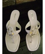 Prada Calzature Donna Sandals EURO 39 USA 9 Wedding Free Shipping New wi... - $189.00