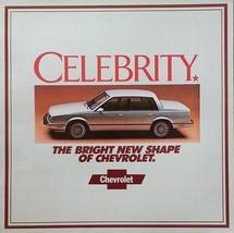 1982 Chevrolet CELEBRITY sales brochure catalog Chevy 82 - $6.00