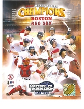 2004 World Series Composite 1 Boston Red Sox 11X14 Color Memorabilia Photo - $14.95