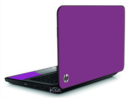 Plum Vinyl Laptop Lid Cover Skin Decal Fits Hp Pavilion G6 - $10.99