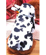 Cute Cow Hoodie Pet Halloween Costume Size XXSmall - $8.00