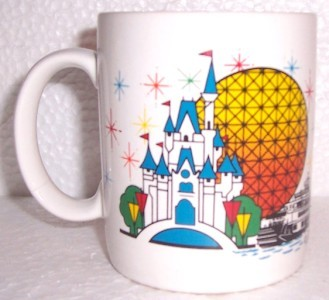 "Disney ""Rachel"" Mickey Mouse Name Ceramic Mug"