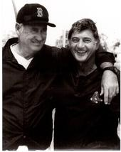 Ted Williams Carl Yastrzemski Boston Red Sox Vintage 8X10 BW Memorabilia... - $4.99