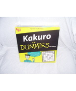KAKURO For Dummies The Game 40+ PUZZLES - $27.96