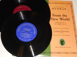 "DVORAK Bernstein Stadium Concerts New World LP plus 10"" record NM No. 5 ... - $17.38"