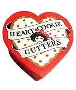 Vintage-Vandor 1981 Heart Shaped metal cookie cutters--Designed by Pelzman - €8,12 EUR