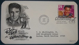 Elvis Presley First Day Cover- 29 cent stamp - $8.00