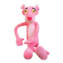 40 CM Cute Pink Naughty Leopard Pink Panther Plush Stuffed Toys Baby Ki... - $4.32