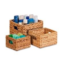 Honey-Can-Do STO-02882 Nesting Banana Leaf Baskets, Multisize, 3-Pack - $28.63