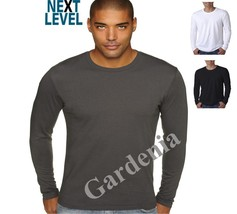 Next Level N3601 Next Level Men's Long-Sleeve Cotton Crew - $7.87+