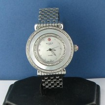 Michele MWW20E000001 Cloette Diamond MOP Dial Steel Ladies Watch New $2145 - $1,362.19