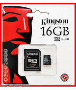 Kingston 16GB Micro Memory SD Card for Samsung ... - $9.00