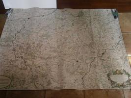 DUCATO DI LUSSEMBURGO DUCHE LUXEMBOURG GRANDE MAPPA DEL DEZAUCHE MAP ori... - $560.43