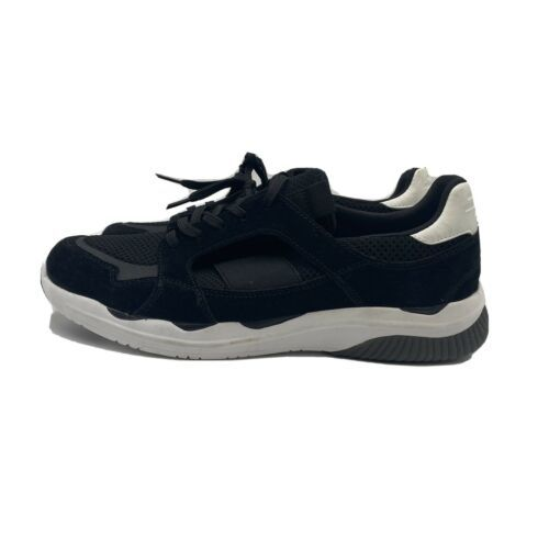 Primary image for Women's Evolve by Easy Spirit  Black Lace Up Casual Sneaker Shoes, Size 9.5W