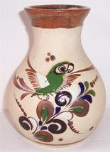 Extra Large Tonala Mexico Native Latino Pottery Vase Signed Vicman Mexico - $230.99