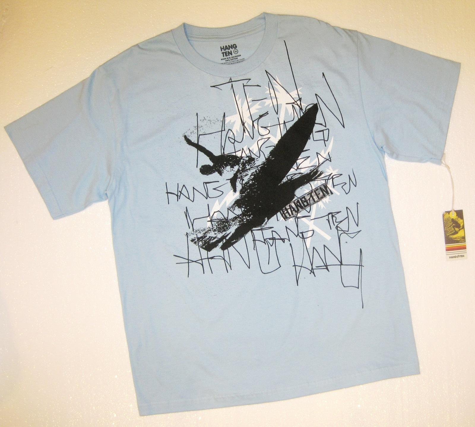 Hang ten outta sight surfing t shirt  1