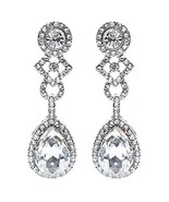 Bridal Wedding Jewelry Elegant Classic Teardrop... - $11.00